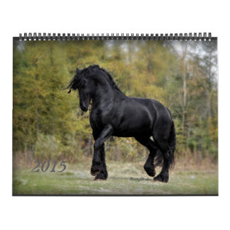 Friesian and Horse 2015 Calendar