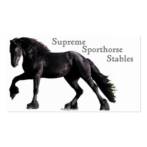 Friesian Classic Business Cards