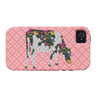 Friesian cow, Friese koe Vibe iPhone 4 Cases