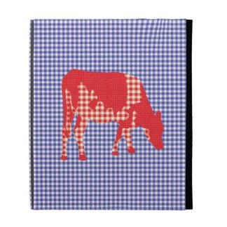 Friesian cow, Friese koe iPad Folio Cover