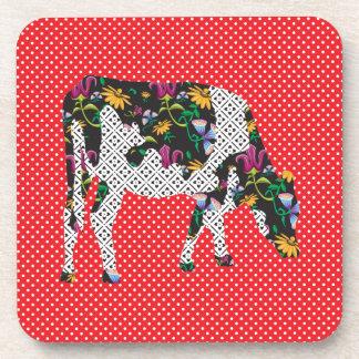 Friesian cow, Friese koe Drink Coasters