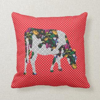 Friesian cow, Friese koe Pillow