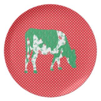 Friesian cow, Friese koe Plate