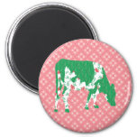 Friesian cow, Friese koe Refrigerator Magnets