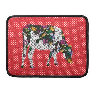 Friesian cow, Friese koe Sleeves For MacBook Pro