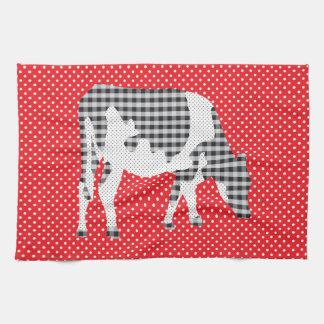 Friesian cow, Friese koe Towel