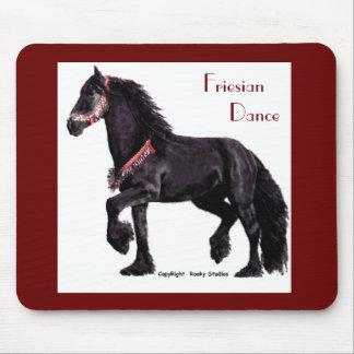 Friesian Dance Mousepad - Customized