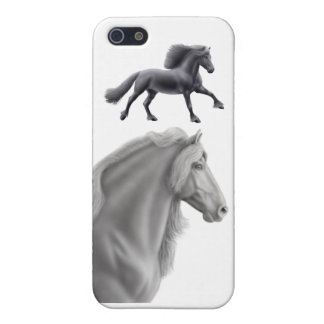 Friesian Draft Horse iPhone Case