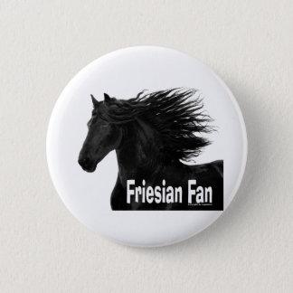 Friesian Fan Button