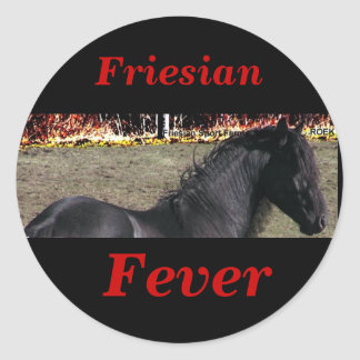 Friesian Fever Stickers