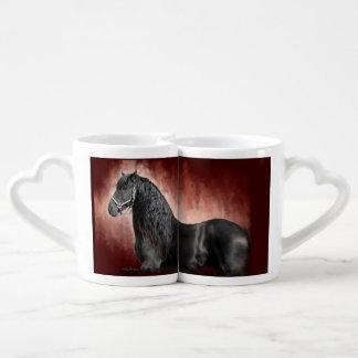 Friesian Fire Coffee Mug Set