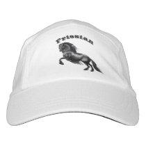 Friesian horse, black beauty stallion hat