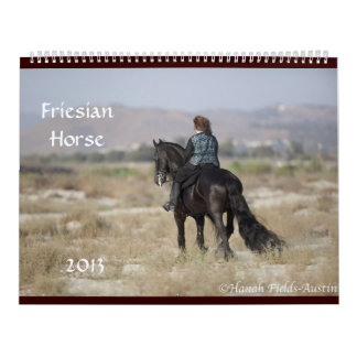 Friesian Horse Calendar 2013 Colossal