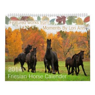 Friesian Horse Calendar Contest