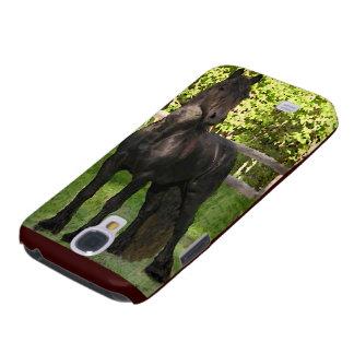 Friesian Horse Samsung Galaxy S4 Cover