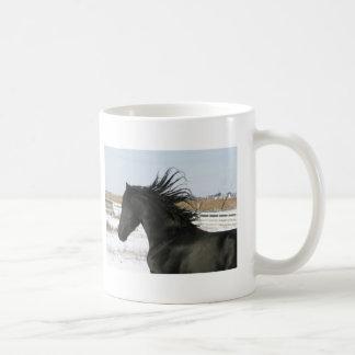 Friesian Horse Coffee Cup
