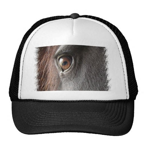Friesian Horse Design Baseball Hat