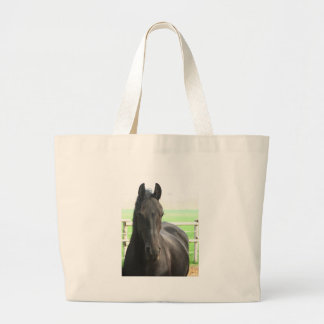 Friesian Horse Environmental Tote Bag