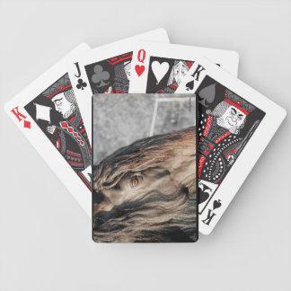 Friesian Horse Eye Playing Cards