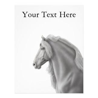 Friesian Horse Flyer