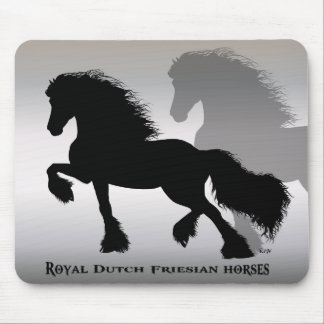 Friesian Horse/frieze horse Mouse Pad