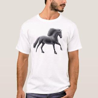 Friesian Horse Full Gallop T-Shirt