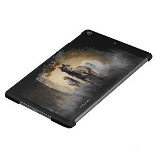 Friesian Horse Hallo iPad Air Covers