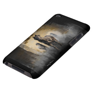Friesian Horse Hallo iPod Touch Case