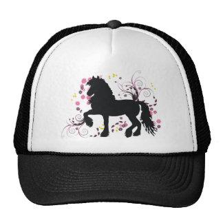 Friesian Horse Trucker Hat
