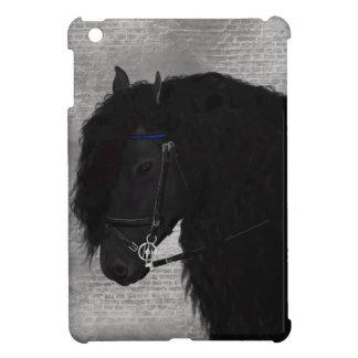 Friesian Horse iPad Mini Covers