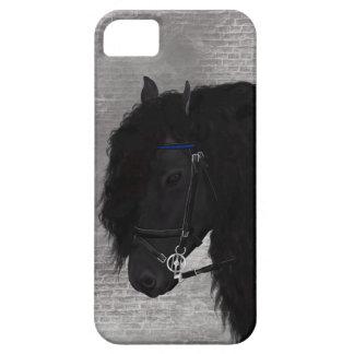 Friesian Horse iPhone SE/5/5s Case