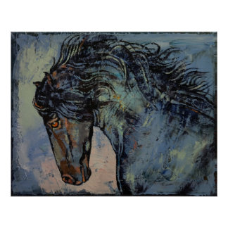 Friesian Horse Posters
