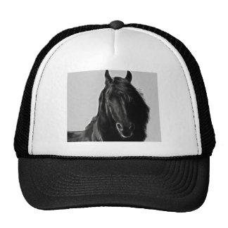Friesian Horse profile Trucker Hat