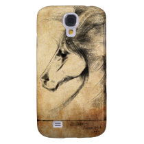 Friesian Horse Samsung Galaxy S4 Cover