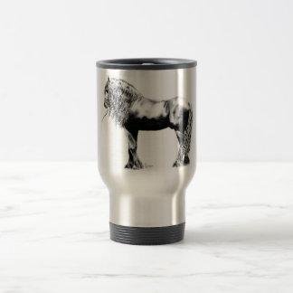 Friesian Horse Travel Mug