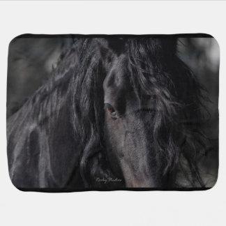 Friesian Image Receiving Blanket