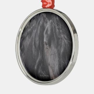 Friesian Intimate Metal Ornament