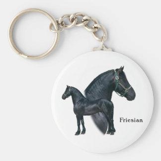 Friesian Keychain