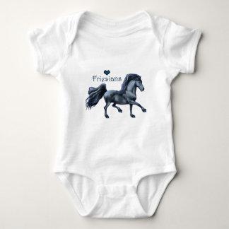 Friesian Love Baby Bodysuit