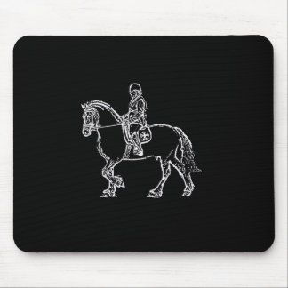 Friesian Mouse Pad