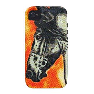 Friesian Mustang iPhone 4 Case