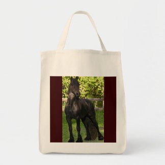 Friesian Painting Grocery Tote Bag