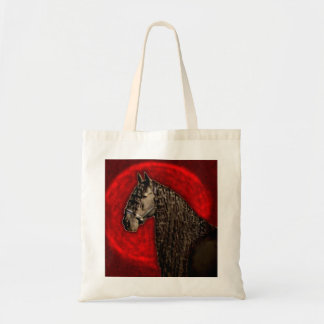 Friesian Portrait Budget Tote Bag