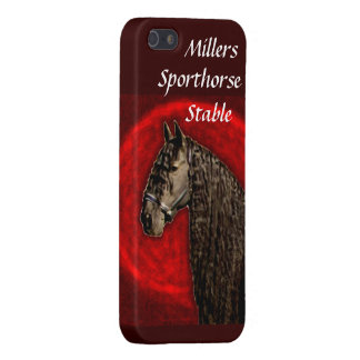 Friesian Portrait Case For iPhone 5