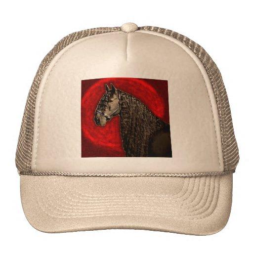 Friesian Portrait Trucker Hats