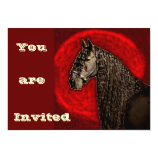 Friesian Portrait, Invites