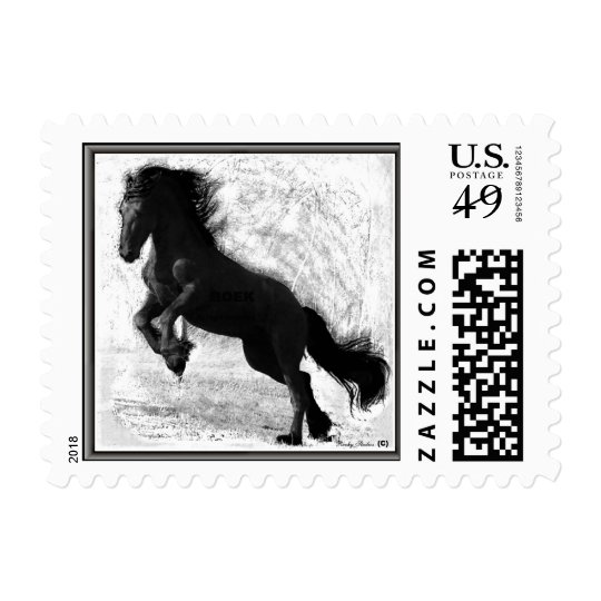 Friesian Power Postcard Stamps