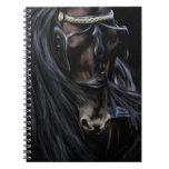 Friesian Spirit - Horse Painting Note Books