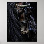 Friesian Spirit - Horse Painting Posters
