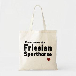 Friesian Sporthorse Tote Bags
